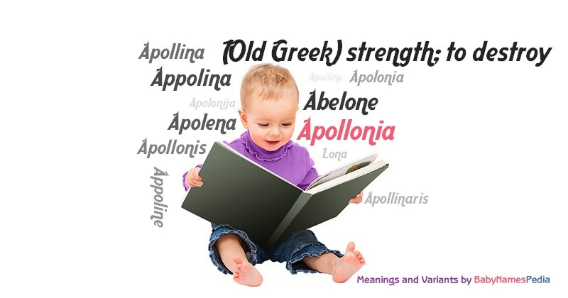 Meaning of the name Apollonia