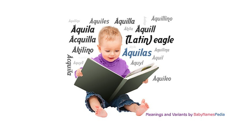 Meaning of the name Aquilas