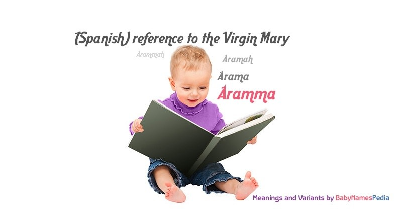 Meaning of the name Aramma
