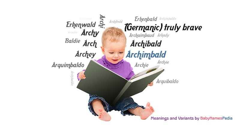 Meaning of the name Archimbald