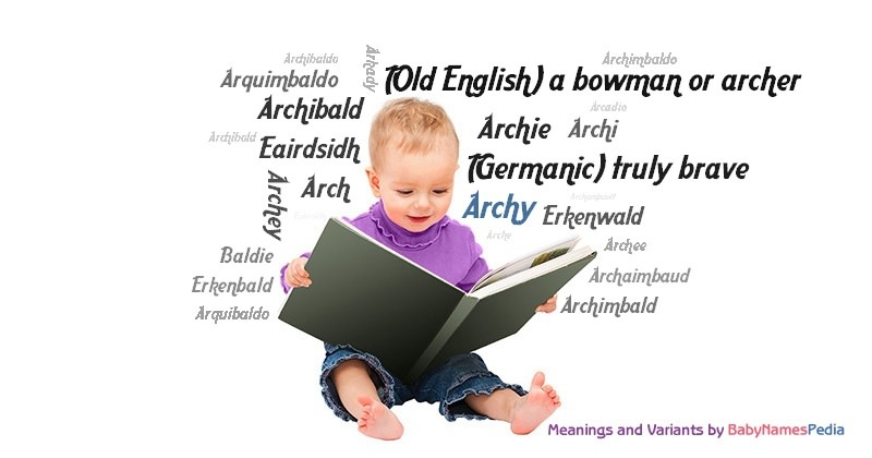 Meaning of the name Archy