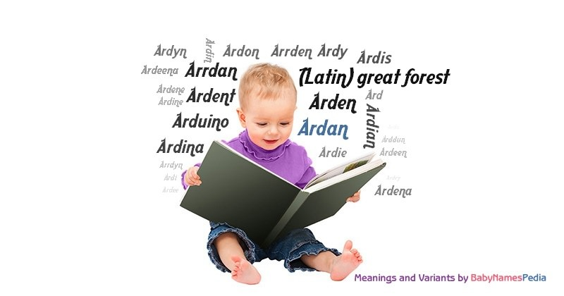 Meaning of the name Ardan