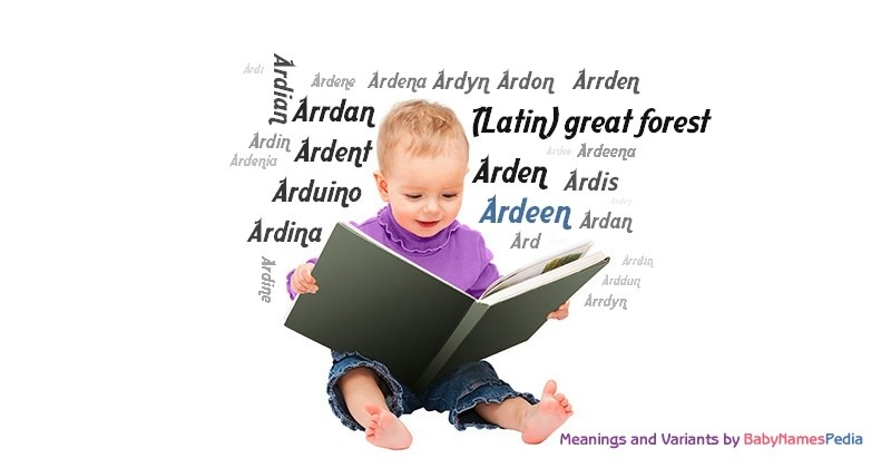 Meaning of the name Ardeen