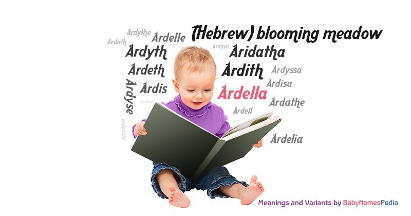 Meaning of the name Ardella