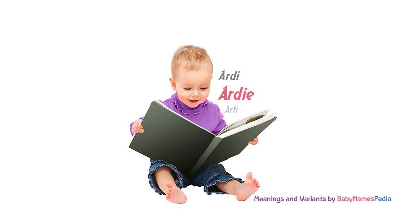 Meaning of the name Ardie