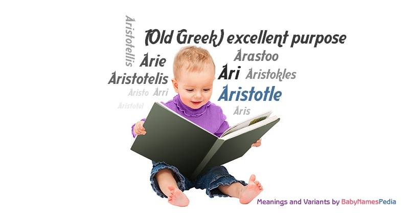 Meaning of the name Aristotle