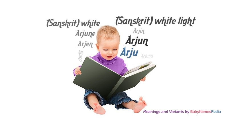 Meaning of the name Arju