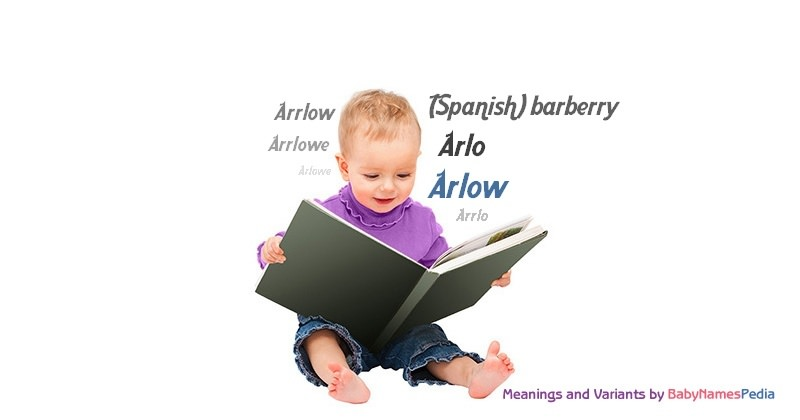 Meaning of the name Arlow