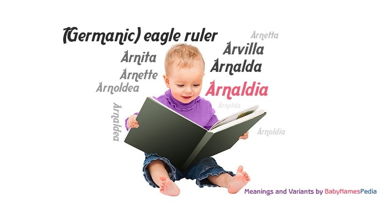 Meaning of the name Arnaldia