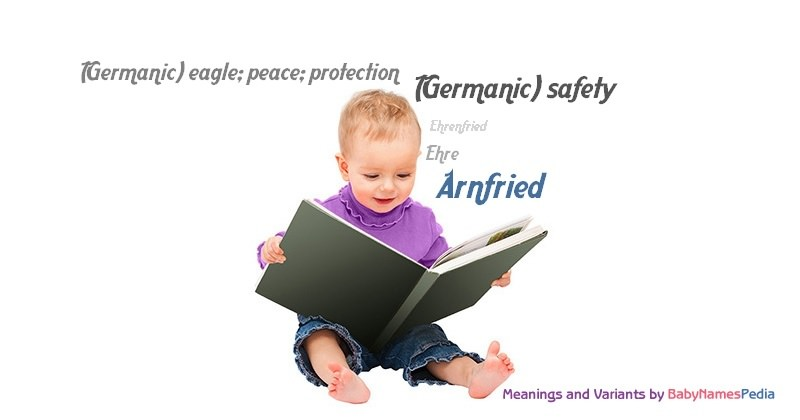 Meaning of the name Arnfried