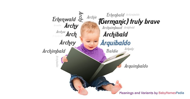 Meaning of the name Arquibaldo