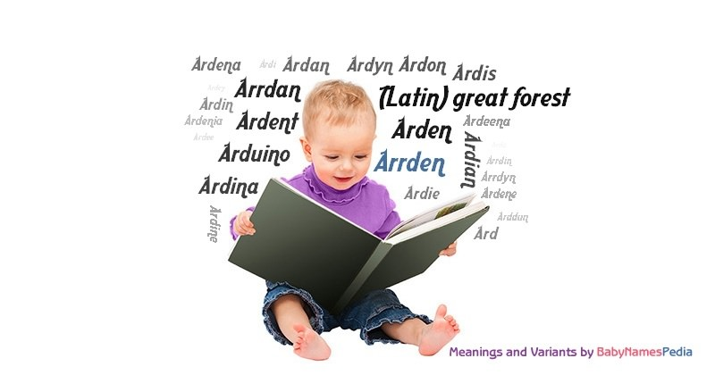 Meaning of the name Arrden