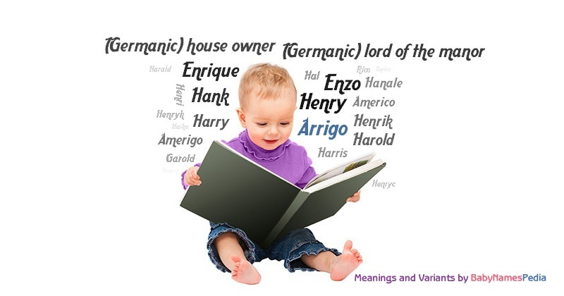 Meaning of the name Arrigo