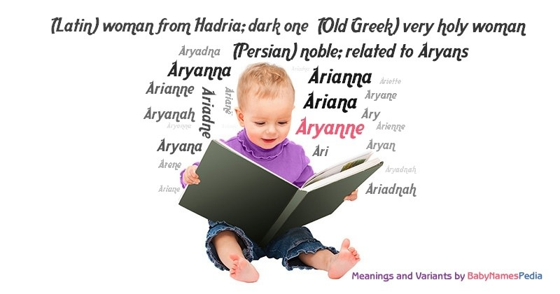 Meaning of the name Aryanne