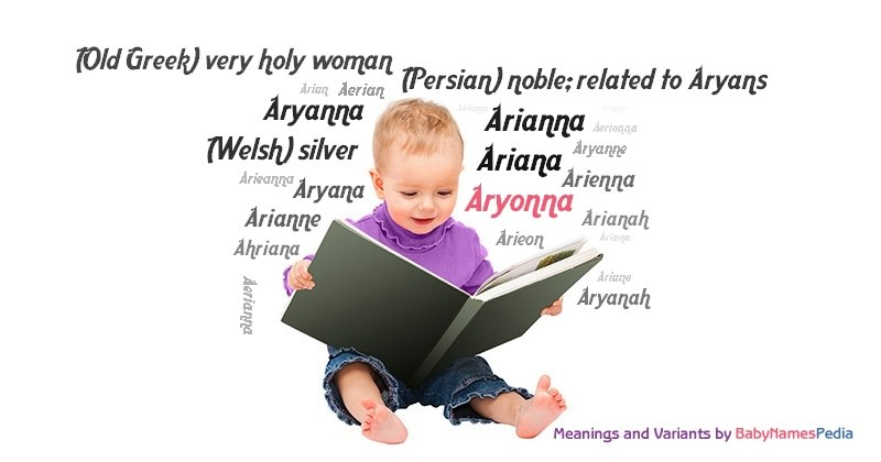 Meaning of the name Aryonna