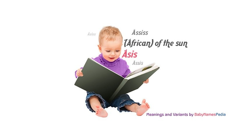 Asis Meaning Of Asis What Does Asis Mean