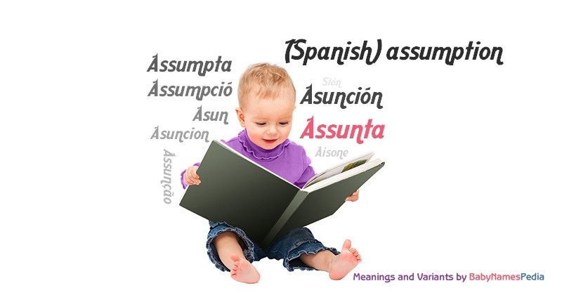 Meaning of the name Assunta