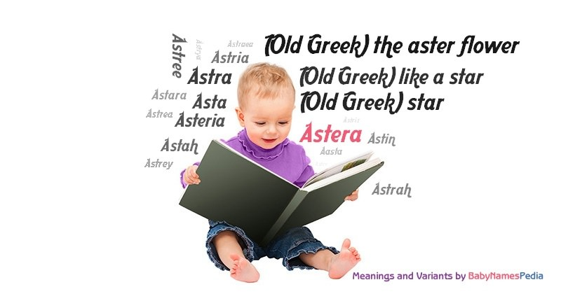 Meaning of the name Astera