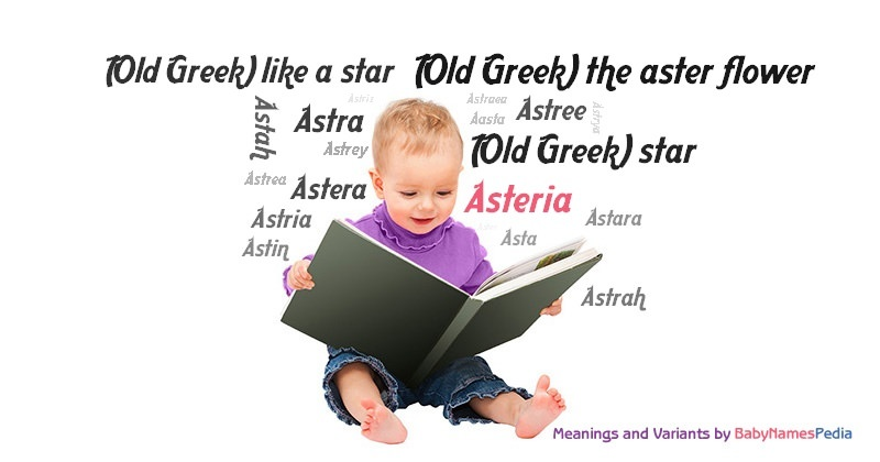 Asteria - Meaning of Asteria, What does Asteria mean?