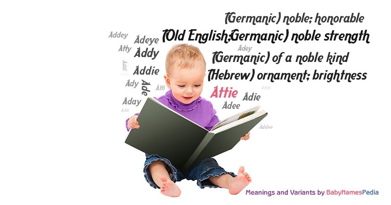 Meaning of the name Attie