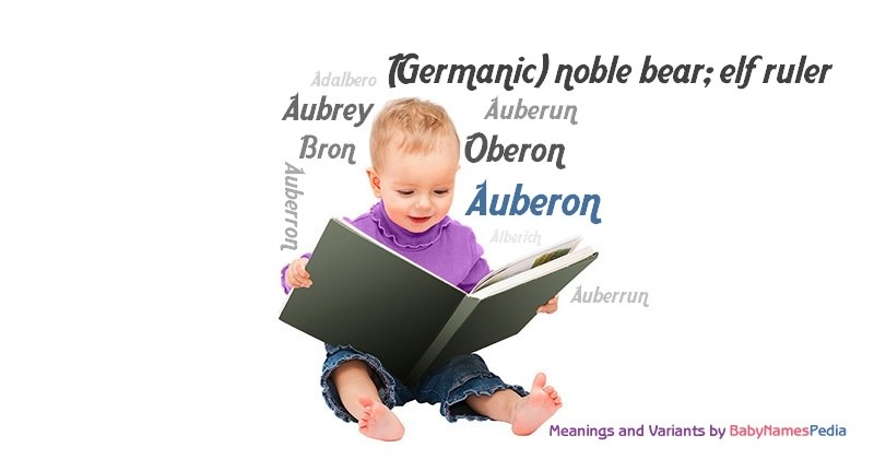 Meaning of the name Auberon