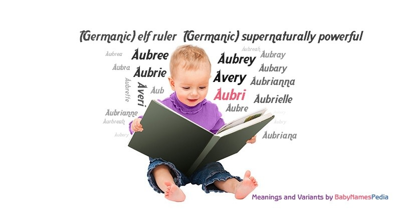 Meaning of the name Aubri