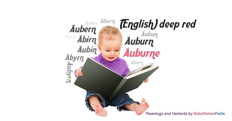 Meaning of the name Auburne