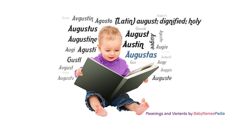 Meaning of the name Augustas