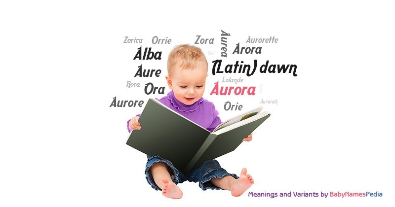 Meaning of the name Aurora