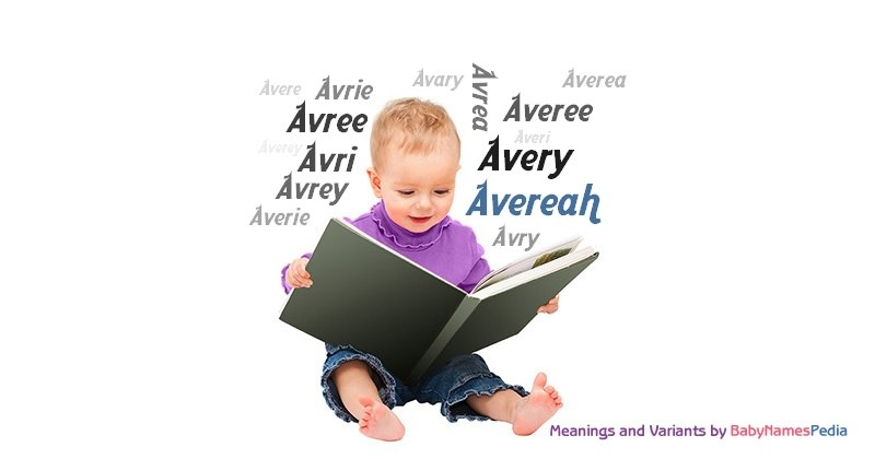 Meaning of the name Avereah