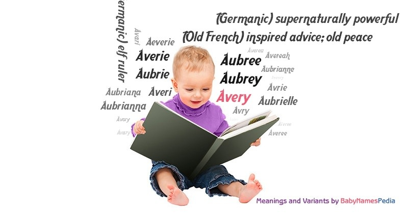 Meaning of the name Avery