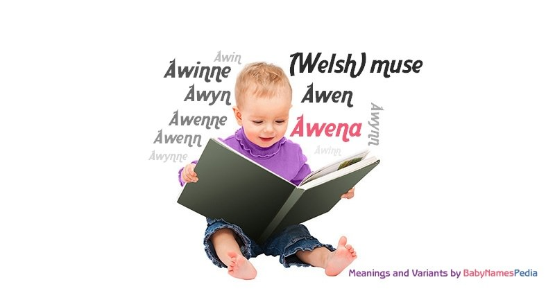 Meaning of the name Awena