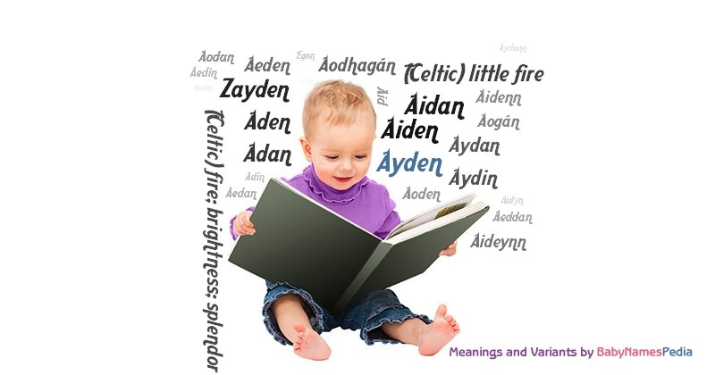 Meaning of the name Ayden