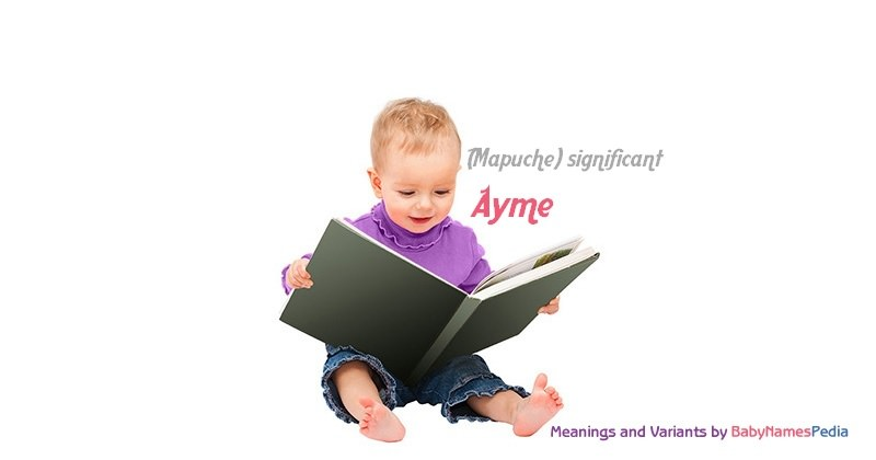Meaning of the name Ayme