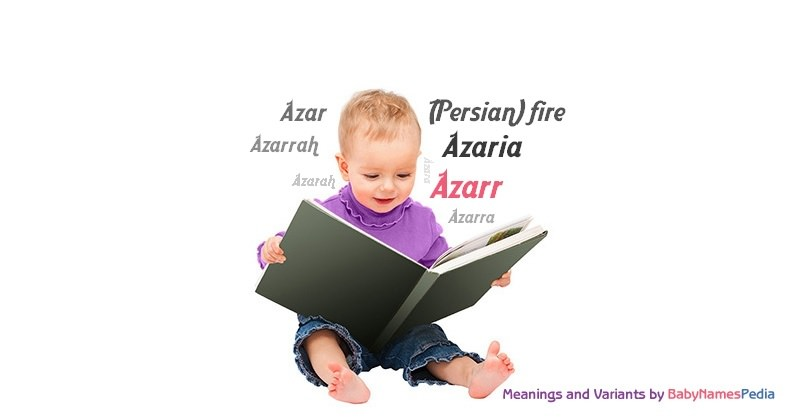 Meaning of the name Azarr