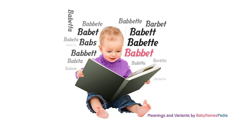 Meaning of the name Babbet
