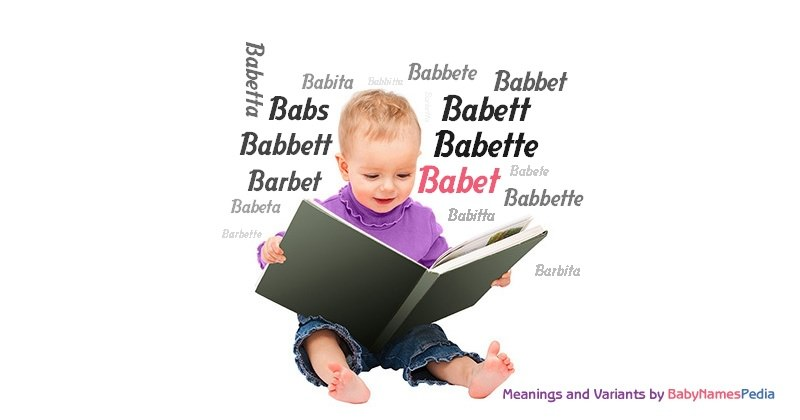 Meaning of the name Babet