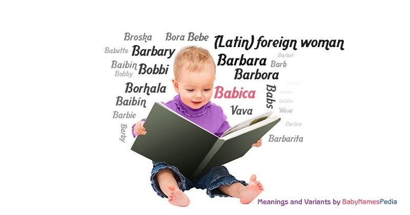 Meaning of the name Babica
