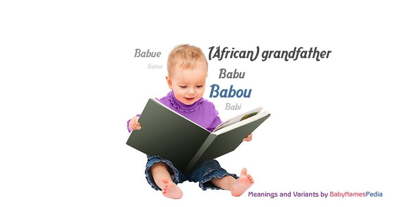 Meaning of the name Babou