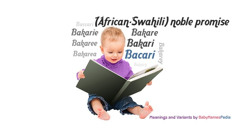Meaning of the name Bacari