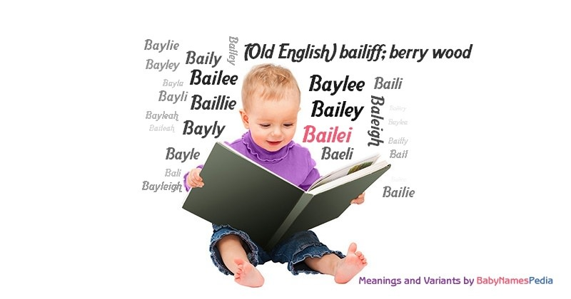 Meaning of the name Bailei