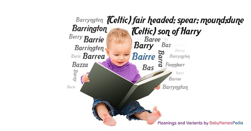 Meaning of the name Bairre