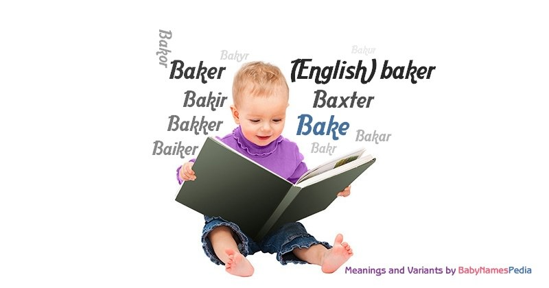 Meaning of the name Bake