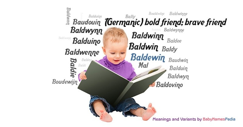 Meaning of the name Baldewin