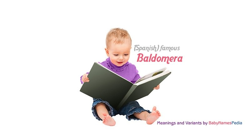 Meaning of the name Baldomera
