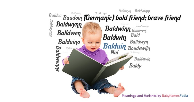 Meaning of the name Balduin