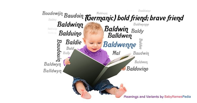 Meaning of the name Baldwenne