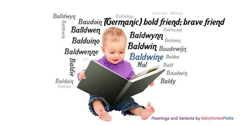 Meaning of the name Baldwine