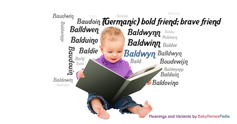 Meaning of the name Baldwyn