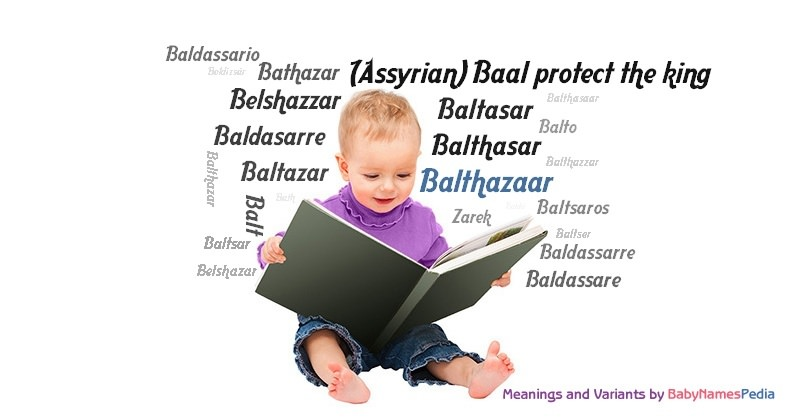 Meaning of the name Balthazaar